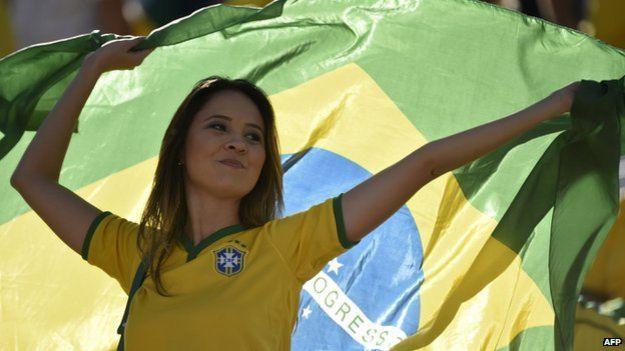 美麗的巴西女郎。(BBC中文網)