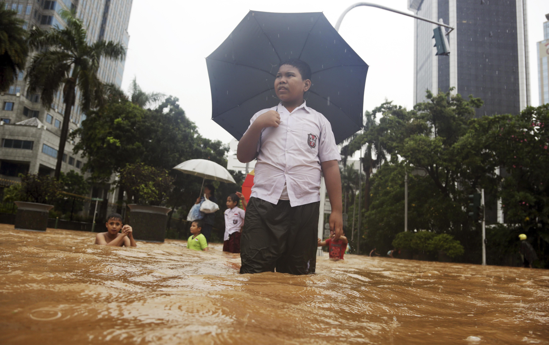 Indonesia Floods 印尼洪水 氣候變遷